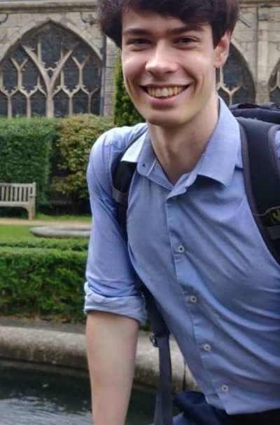 Medical Student Chris Geddie, University of Bristol